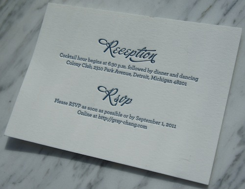 unique wedding invitation – Rsvp in Invitation Card Meaning