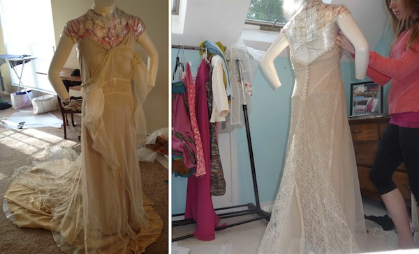Wedding Dress_Before and After